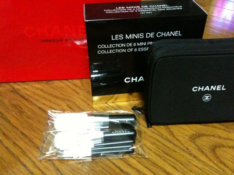 Chanelのブラシセット